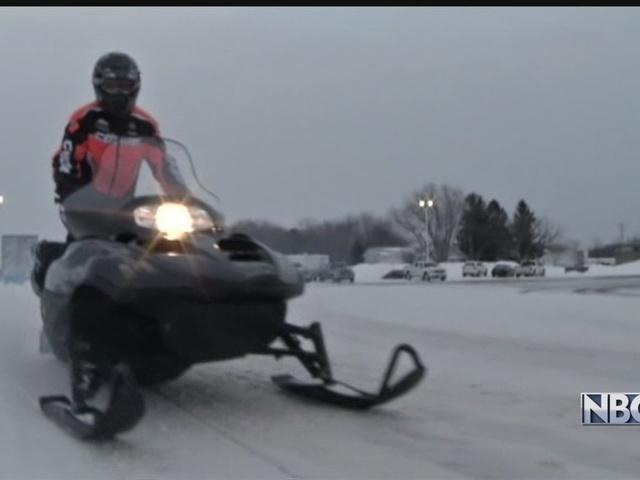 Snowmobiler rescued from Lake Winnebago waters