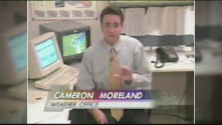 Happy National Weather Person's Day, Cameron!