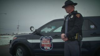 Trooper back on roads two years after accident