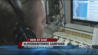 #LoveManitowoc Being Used to Combat Negativity