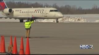 Airports prepared for emergency landings