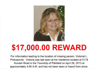Reward raised to find missing Pittsfield woman