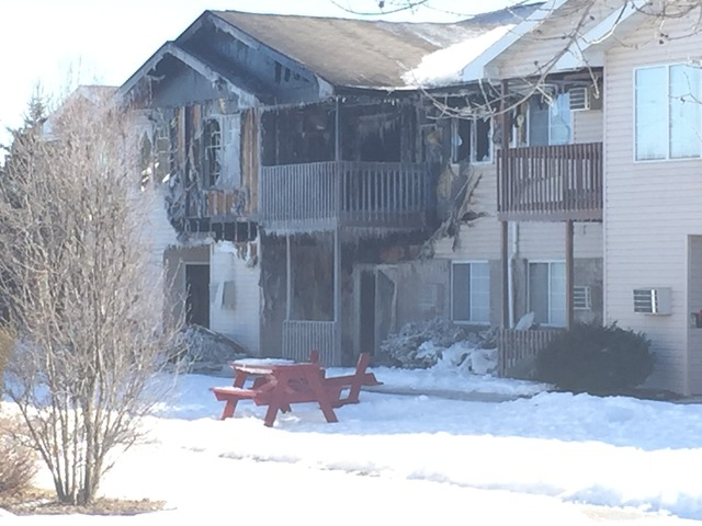 Three firefighters injured in Sturgeon Bay fire