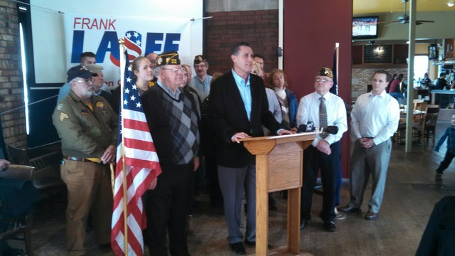 Sen. Frank Lasee announces run for congress