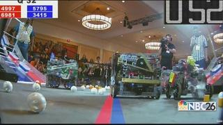 Hortonville robotics team on world stage