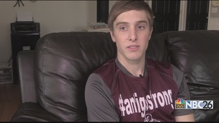 Injured Antigo student opens up about recovery