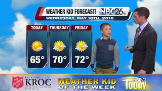 Carson is our Weather Kid of the Week