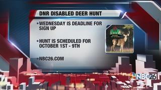 DNR seeks disabled deer hunt sponsors
