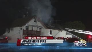 UPDATE: Fond du Lac County apartment fire
