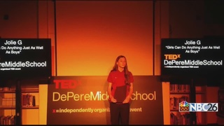 De Pere Middle School Hosts Tedx Event