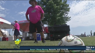 """Kickin' for a Cure"" helping kids with cancer"