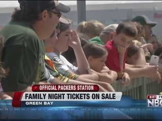 Packers Family Night tickets go on sale Monday