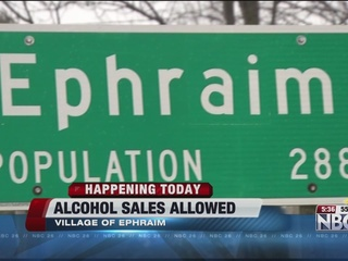 Sale of alcohol now allowed in Ephraim