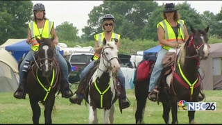 Valley Mounted Volunteers ride for a reason