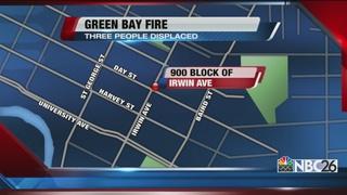 Green Bay basement fire