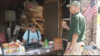 VFW post treats officers to a free lunch