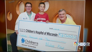 10-year-old Inspires $20,000 donation to Hospita