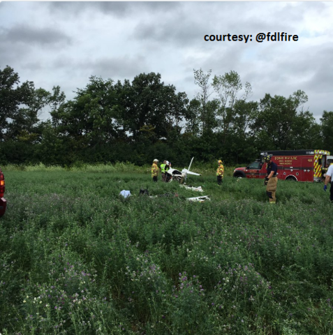 BREAKING: Plane crash at Fond du Lac Co. Airport