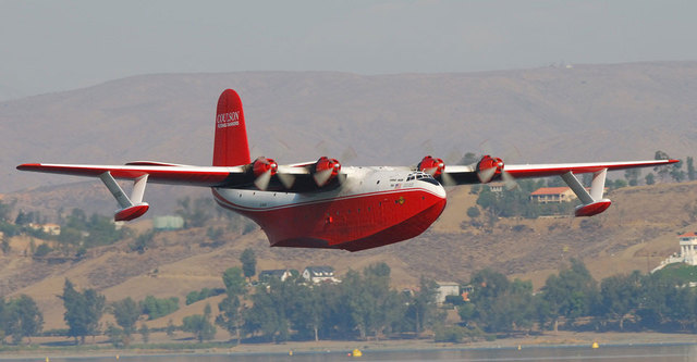 World's largest water bomber won't fly
