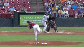 Rattlers Quiet in 6-2 Loss