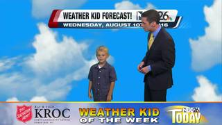 Meet Weather Kid of the Week Benjamin