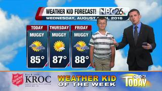 Meet our Weather Kid of the Week Isaiah