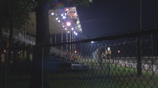 Dirt track driver killed during race