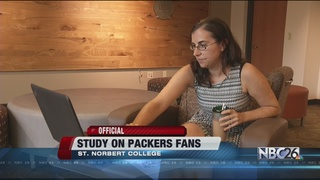 St. Norbert College study analyzes Packers fans