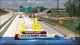 I-41/I-43 interchange reopens