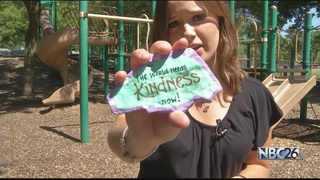 Kindness Rocks Project Brings Smiles to People