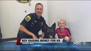Boy raising money to help buy new K-9 officer