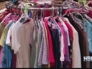 Free clothing giveaway in Appleton
