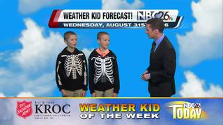 Meet our Weather Kids of the Week Darren and Bre