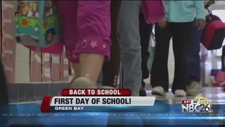 BACK TO SCHOOL: First day of school!