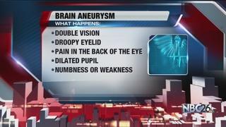 Medical Monday: Brain Aneurysm Awareness Month