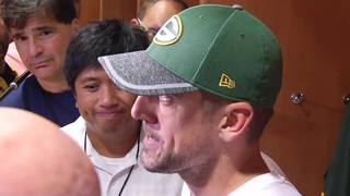 Rodgers Lets Loose On Media Questions