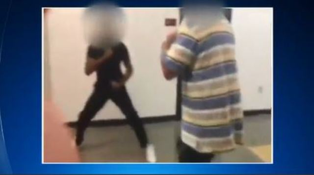 Police, schools probe teacher-student fight caught on video