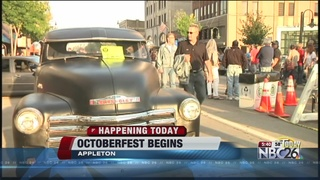Getting ready for the 35th annual Octoberfest