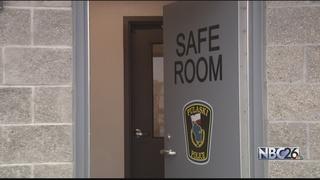 Pulaski Police Department opens a safe room