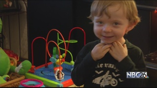 Valley family asks for 'Cards for Finley'