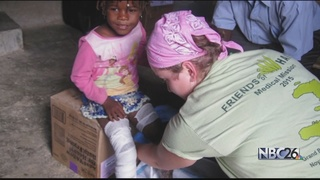 Nursing students care for the poor in Haiti