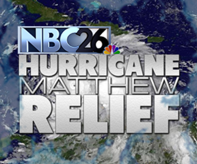 NBC26 Cares Hurricane Relief Drive on the move
