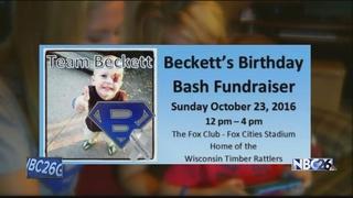 Party raises money for boy battling cancer