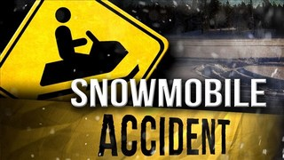 One Man Seriously Hurt in Snowmobile Crash