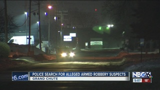 Grand Chute police investigating armed robbery