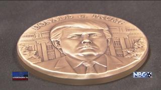 Green Bay company making the inaugural medallion