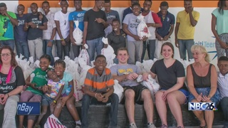 Siblings return from mission trip to Haiti