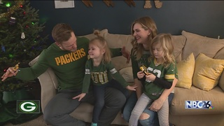 Packers Tree brings Luck to the Packers