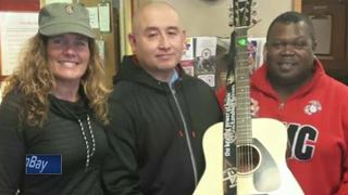 Students donate instruments to Guitars for Vets