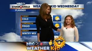 Meet Riley, Our Weather Kid of the Week